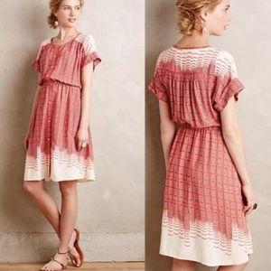 Anthropologie Maeve Veronia Shirt Dress